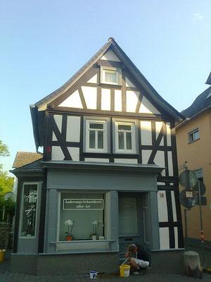 Fachwerkgestaltung Wohn- und Geschäftshaus
