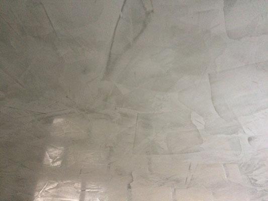 Spachteltechnik Innenraum Flur