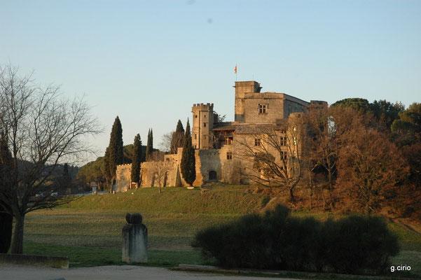 château de Lourmarin au coeur de la Provence