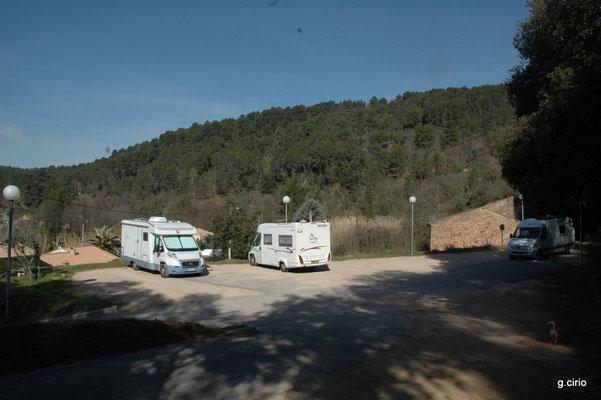 Bivouac à la Motte en Provence