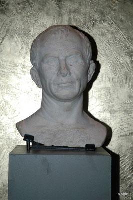 Le buste de César (expo musée d'Arles)