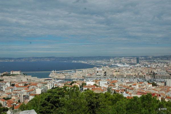 Marseille (vue de Notre Dame de la Garde)