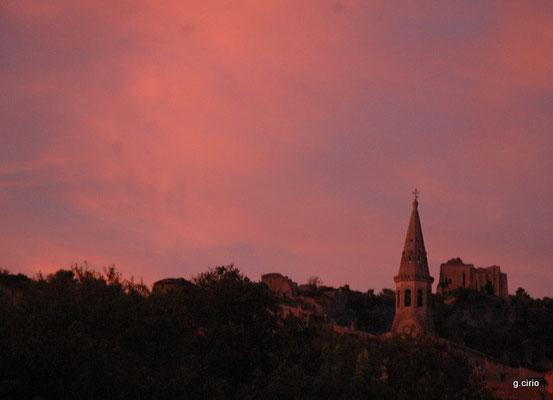 St Saturnin les Apt (coucher de soleil)