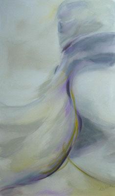 Lebenslinien 15 Acrylfarbe auf Leinwand  60 x 100 cm