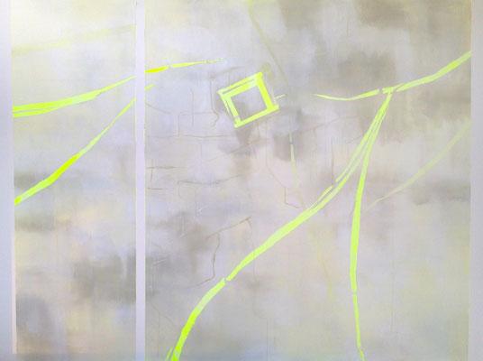 LONDON Acrylfarbe auf Leinwand 160 x 120 cm