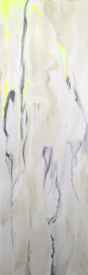 LONDON Acrylfarbe auf Leinwand 40 x 120 cm XL