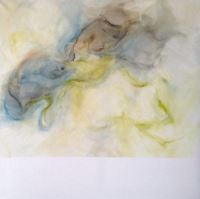 SIENA Acrylfarbe auf Leinwand 100 x 100 cm XL