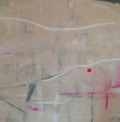 REGENSBURG Acrylfarbe auf Leinwand 40 x 40 cm XXL