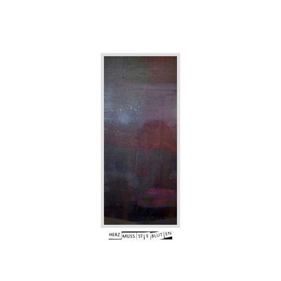 50 x 50 cm Nielsen Rahmen Aluminium I Dorée Passepartout Ausschnitt 13 x 30 cm