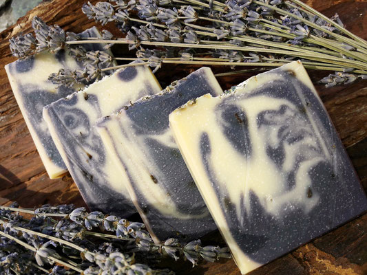 100% Naturseife Lavendel