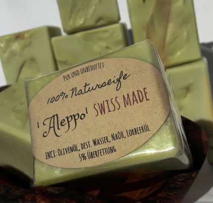 100% Naturseife 'Aleppo' swiss made