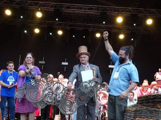 2ème prix -3ème Concours International de Vannerie, Nowy Tomysl Pologne 2015