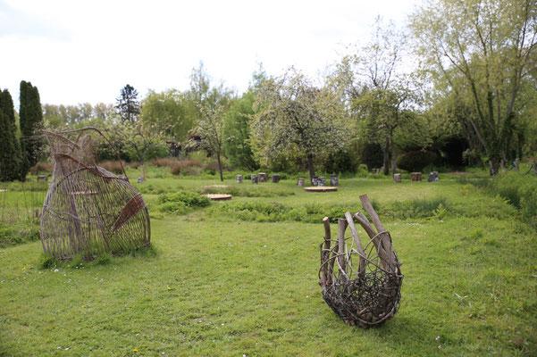jardin, vanneries...
