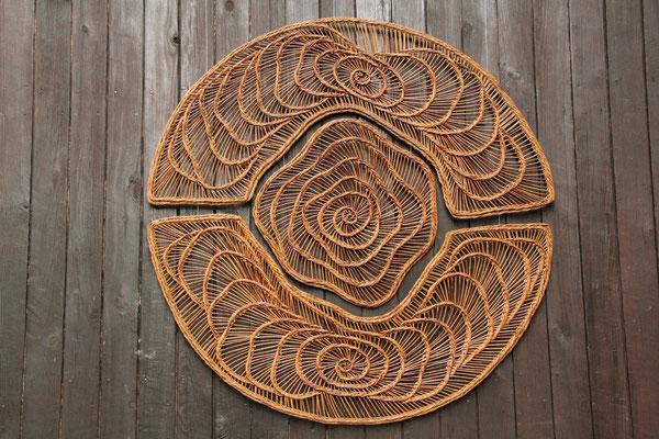 mandala 3 pièces 120 cm