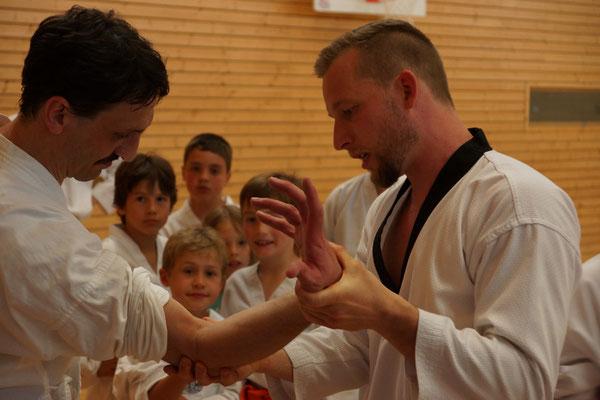 Christopher Lindh, Selbstschutz Lindh, Allkampf-Jitsu, Nervendruckpunkttechniken, Egglham