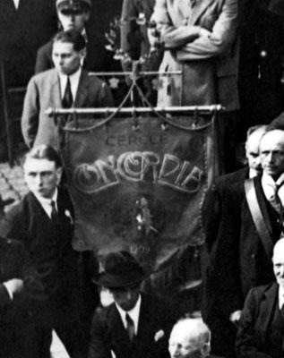1924 - Le drapeau du Cercle Concordia