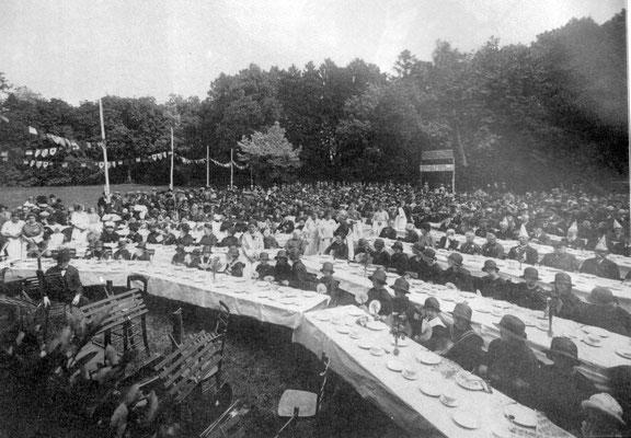 12 juillet 1925 - Les Travailleurs Economes au parc de la Dodaine