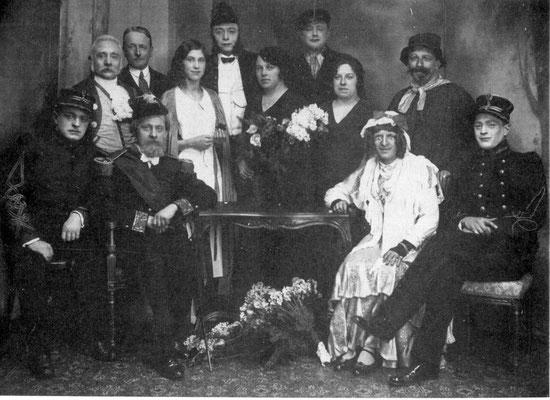 1932 - Le Cercle Les XIII (El Roûse dè Sinte-Ernèle)