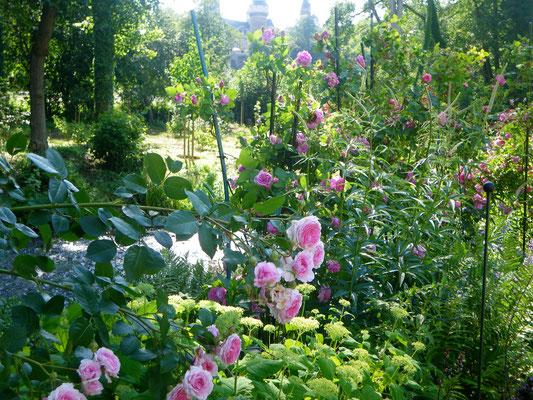 Jardin le Vivier d'Amarose