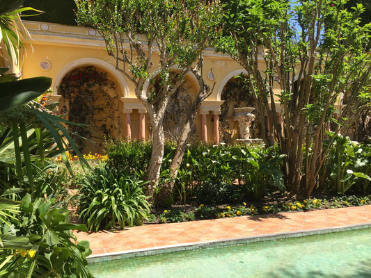 Villa E. de Rothschild - le jardin espagnol