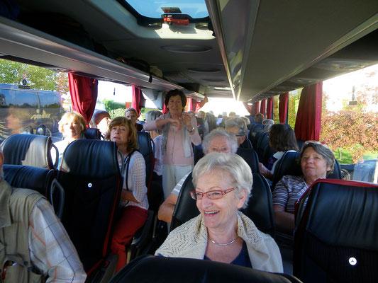 Bonne ambiance sur la route du Loiret