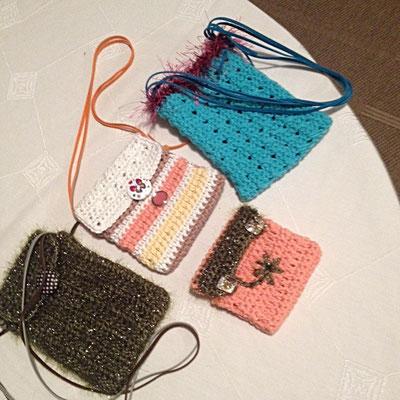 Kleine Täschchen für Geld-Geschenke, Handy …