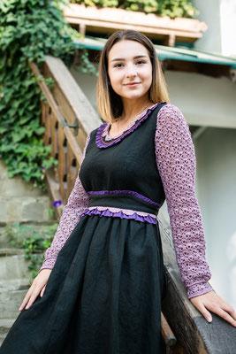 платье в руском стиле, льняное платье, русская одежда, русский стиль, платье на осень