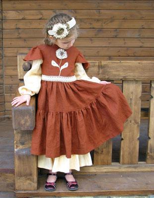 платье в русском стиле, folk dress for girls/ bohemian dreeses