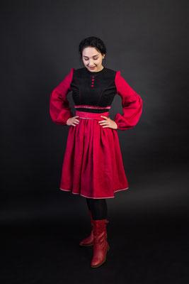 платье в русском стиле, русский стиль