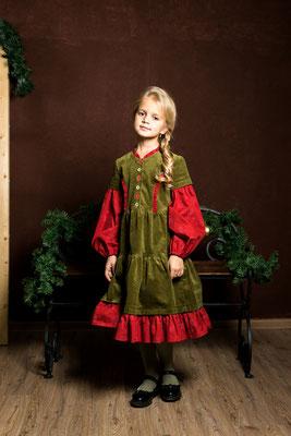 бохо платье для девочки, платье в русском стиле, boho girls dress
