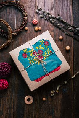 подарок маленькой девочке, подарок на крестины, подарок на рождение девочке, льняное платье с вышивкой