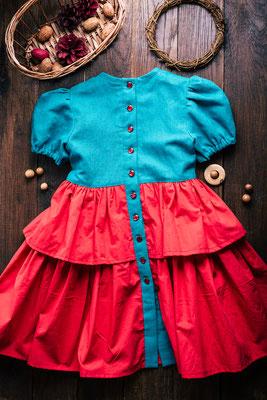 платье в русском стиле, платьице для девочки