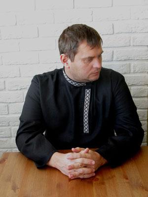 косоворотка мужская купить, косоворотка, русская рубаха, мужская льняная рубаха, вышитая рубашка