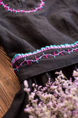 ручная вышивка, одежда с вышивкой, росийские дизайнеры