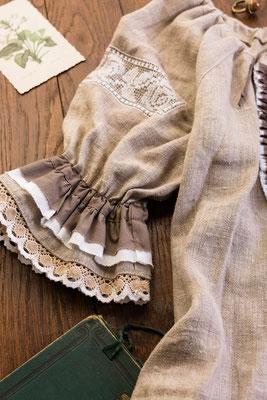 ручная вышивка, русский стиль