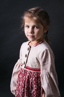 платье в русском стиле, folk dress for girls