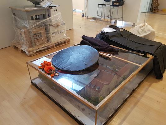 Maquette op reis 16 februari 2017 Museum Heerenveen