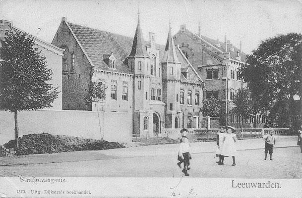 Ansichtkaart Gevangenis Leeuwarden A0144-a