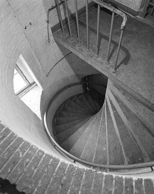 Huis van Bewaring torentje kant zgrwal 1983