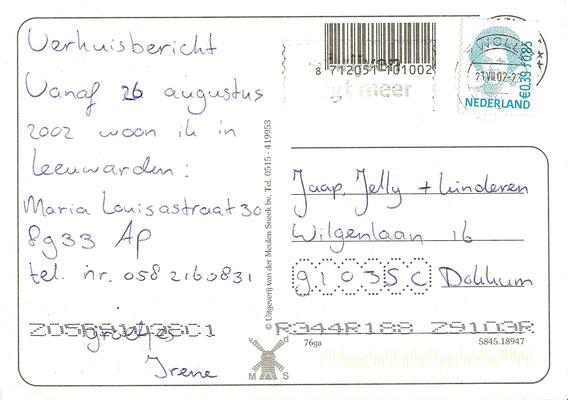 Ansichtkaart Gevangenis Leeuwarden A0134-b