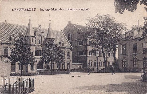 Ansichtkaart Gevangenis Leeuwarden A0105-a