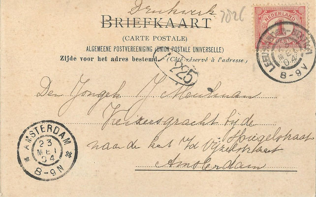 Ansichtkaart Gevangenis Leeuwarden A0142-b