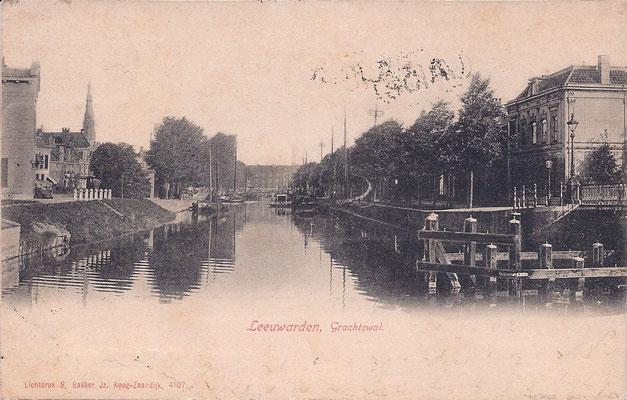 Ansichtkaart Gevangenis Leeuwarden A0069-a