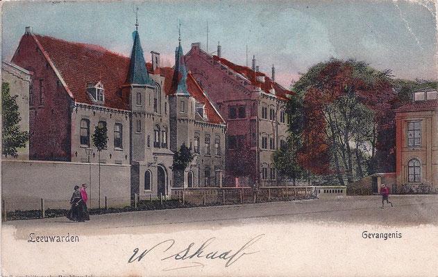Ansichtkaart Gevangenis Leeuwarden A0060-a
