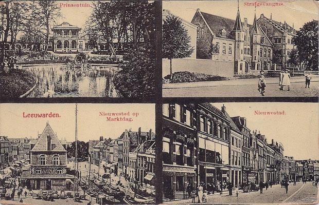 Ansichtkaart Gevangenis Leeuwarden A0065-a