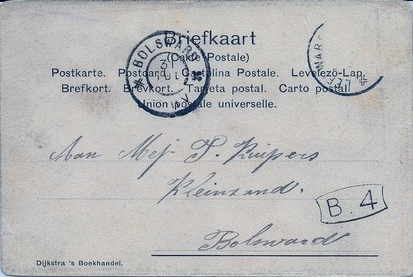 Ansichtkaart Gevangenis Leeuwarden A0128-b