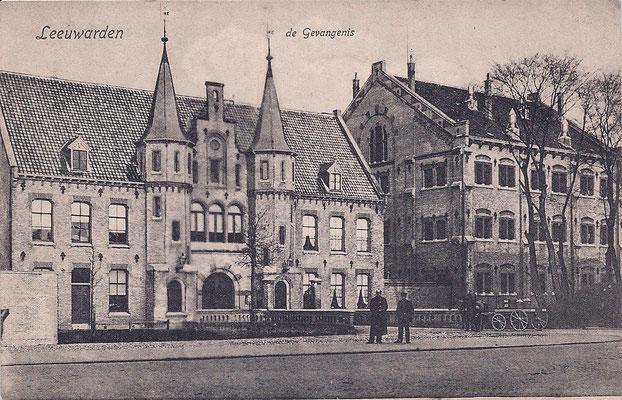 Ansichtkaart Gevangenis Leeuwarden A0055-a