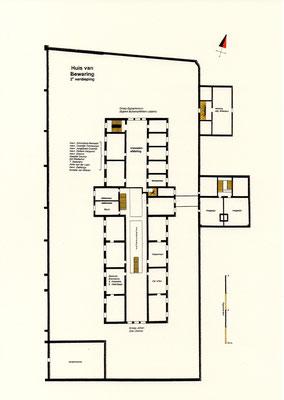 Tweede verdieping: groep Bultsma, Leijstra en Ijtsma