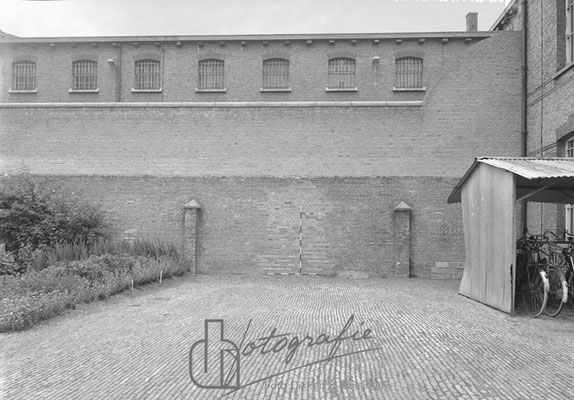 Huis van Bewaring fietsenhok 1962