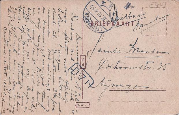 Ansichtkaart Gevangenis Leeuwarden A0114-b